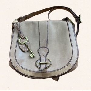 Fossil Lock and Key Crossbody